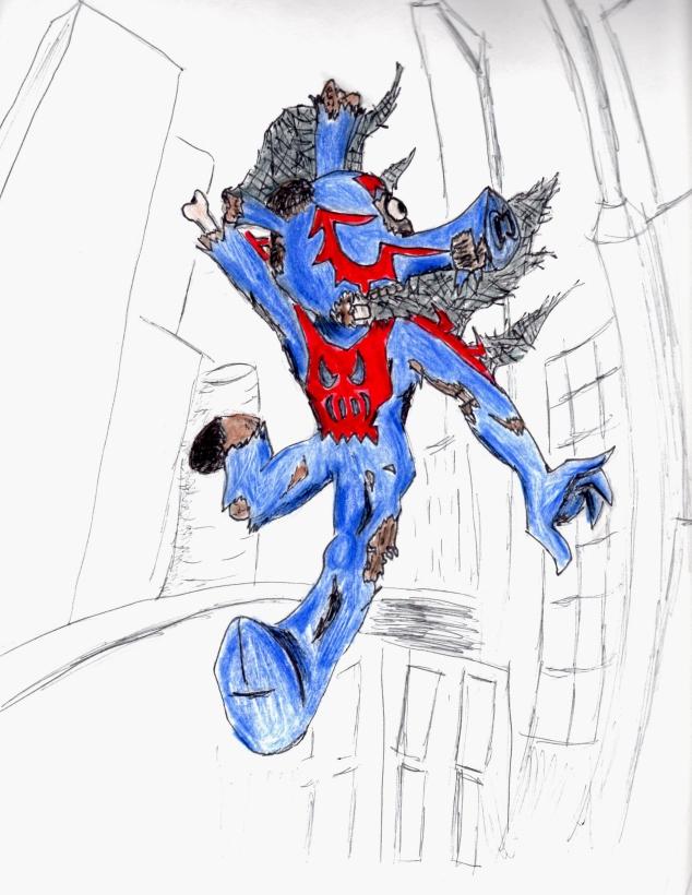 Zombie Spider-Ham 1588